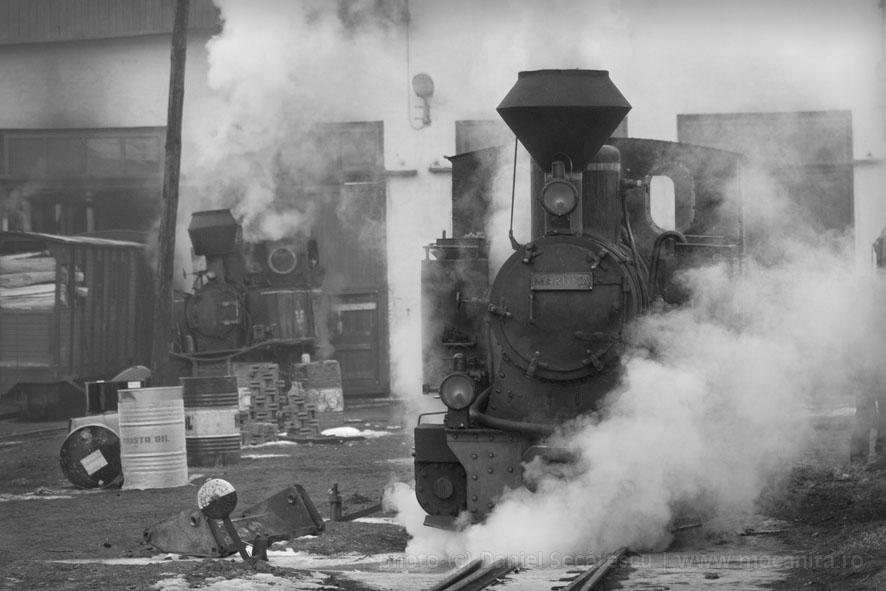 mocanita steam locomotive
